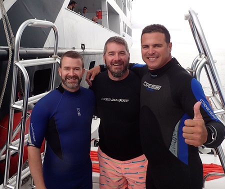 UnderseaX Cuba Divers and Divemaster