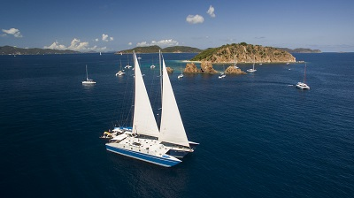 BVI Sailing Trimaran Liveaboard Cuan Law